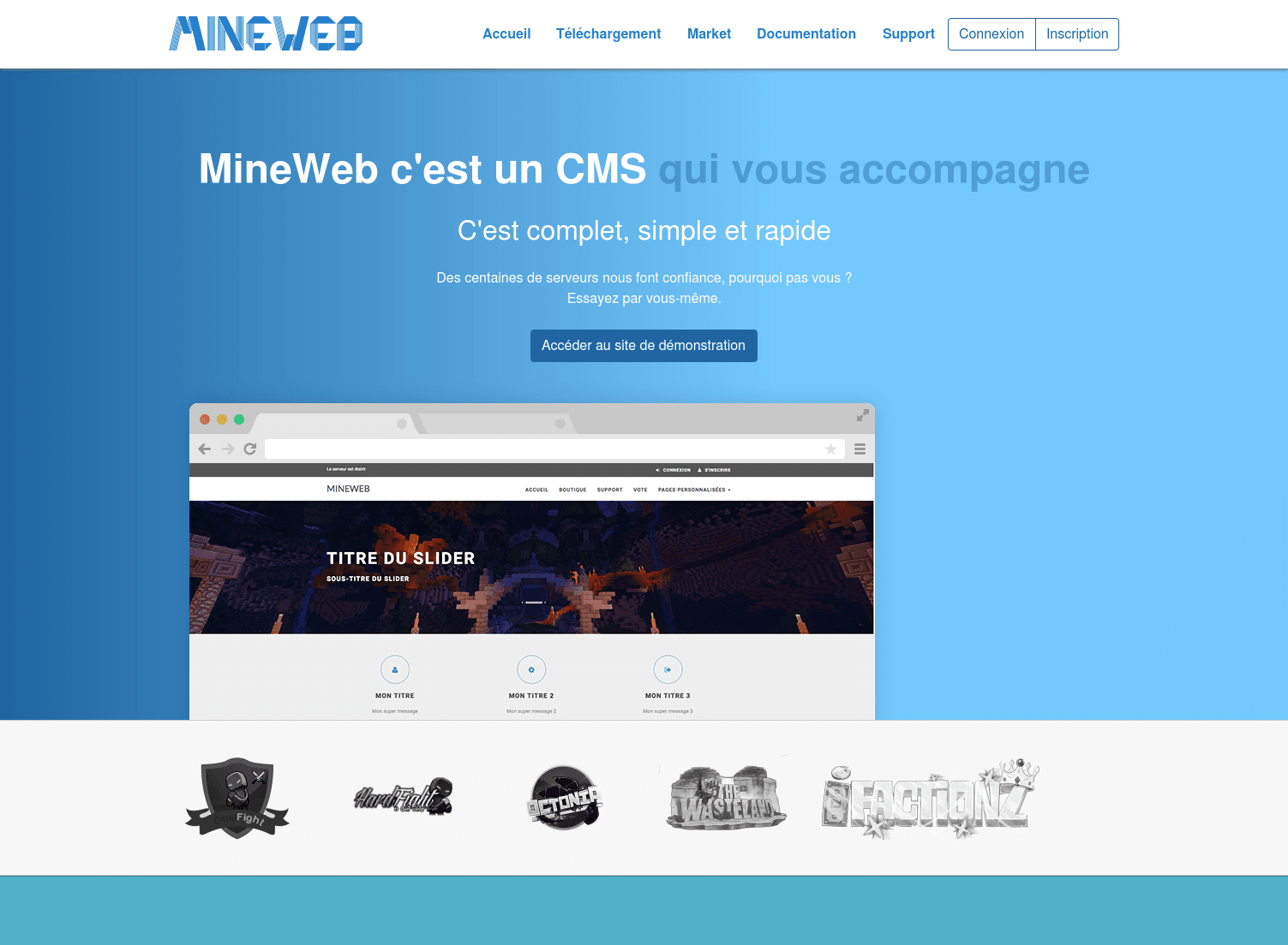MineWeb website